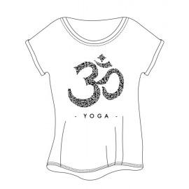 tee-shirt  yoga TEMPS DANSE LIMPID OM