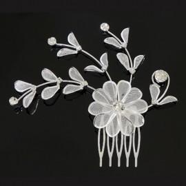 peigne danse classique DASHA DESIGNS fleurs et feuilles