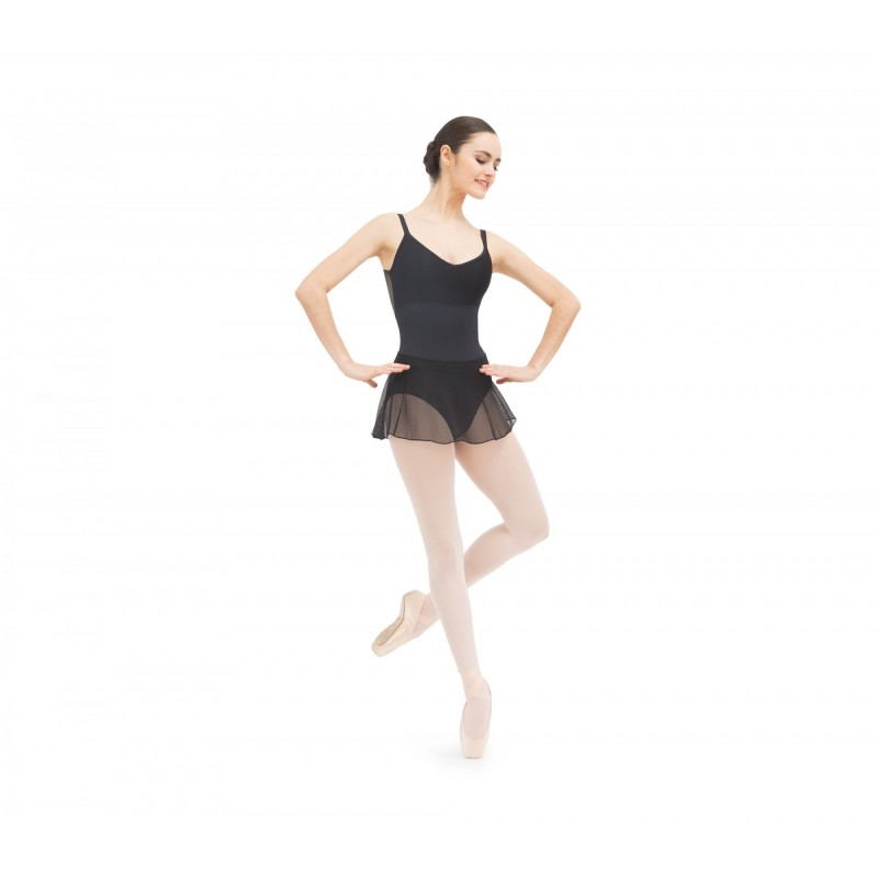 jupette danse classique REPETTO en dentelle noire