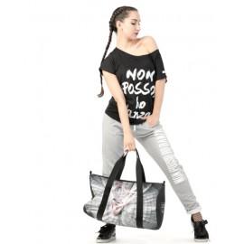 t-shirt NON POSSO, HO DANZA 0007 LOGO