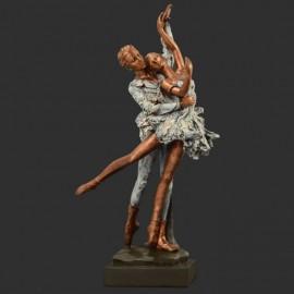 Statuette Résine Couple Danseurs DASHA DESIGNS