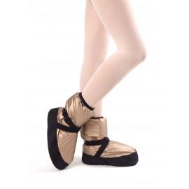 Boots d'échauffement danse GRISHKO M-68/1 Vintage Gold