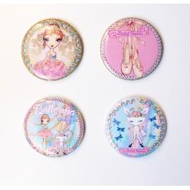 miroir de poche BALLET PAPIER Ballerina