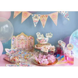party kit BALLET PAPIER ballerina & unicorn
