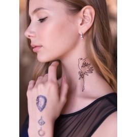 miami tatoos GRISHKO girl