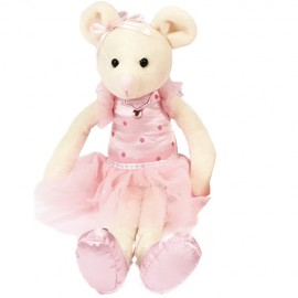 peluche Souris Ballerine DASHA DESIGNS