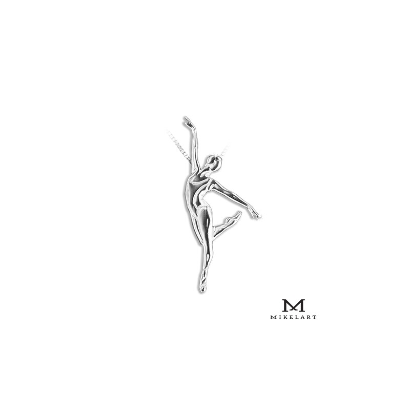 pendentif danseuse MIKELART BALLERINE