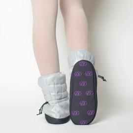 Boots d'échauffement danse RUSSIAN POINTE Sparkling Black
