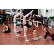 barre de danse réglable DINAMICA BALLET ISA mobile avec roulettes