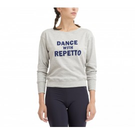 sweat REPETTO Dance With Repetto Gris Chiné