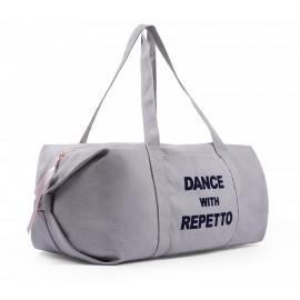 sac de danse REPETTO Polochon Taille L coton taupe