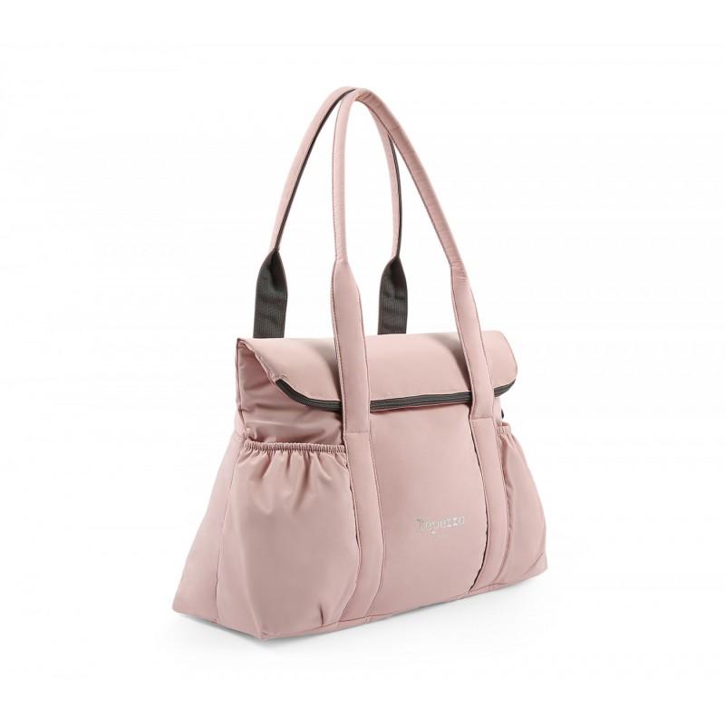 sac de danse REPETTO REBECCA avec rabat nylon rosée