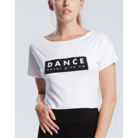 t-shirt court danse TEMPS DANSE AGILE NEVER adulte
