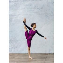 combinaison short danse GRISHKO 0404PT