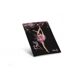 cahier patineuse A5 LikeG ligné LG-QPQ-93