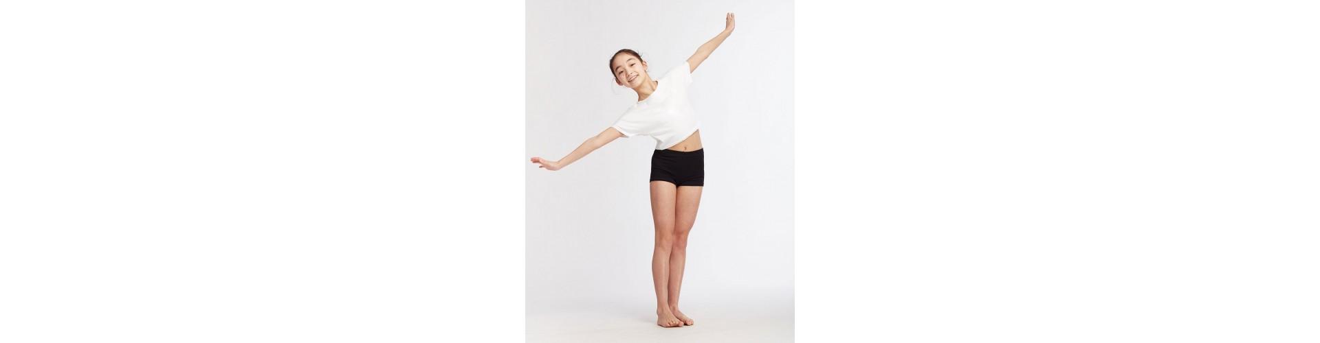 Shorts de danse fille